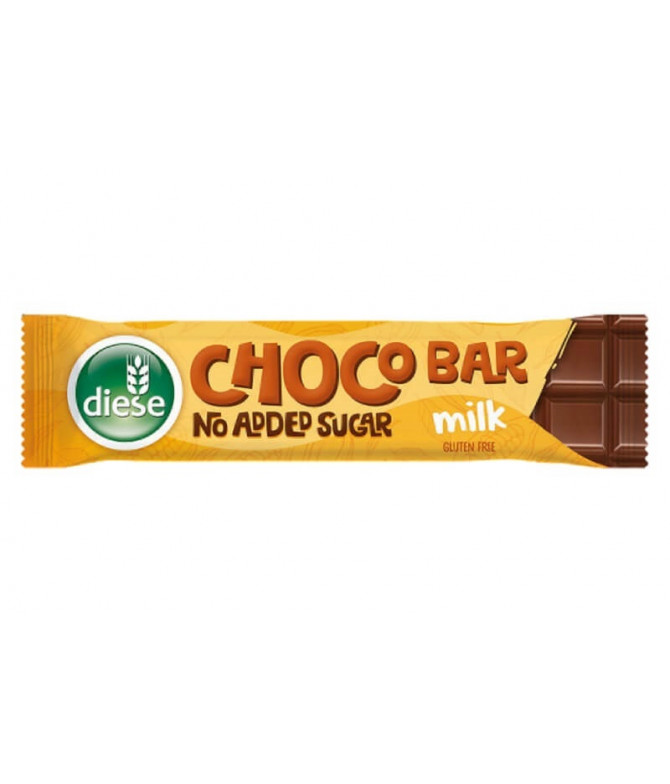 Diese Chocolate Leite Sem Açúcar 30gr