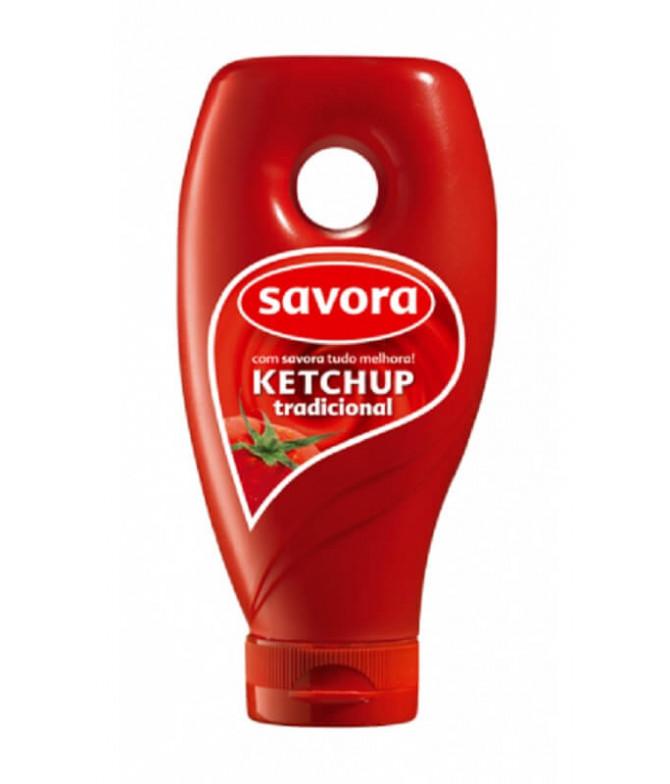 Savora Ketchup Top Down 230gr