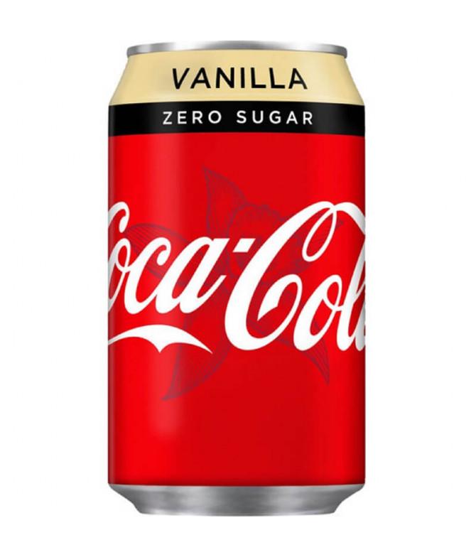 Coca-Cola Zero Baunilha 33cl