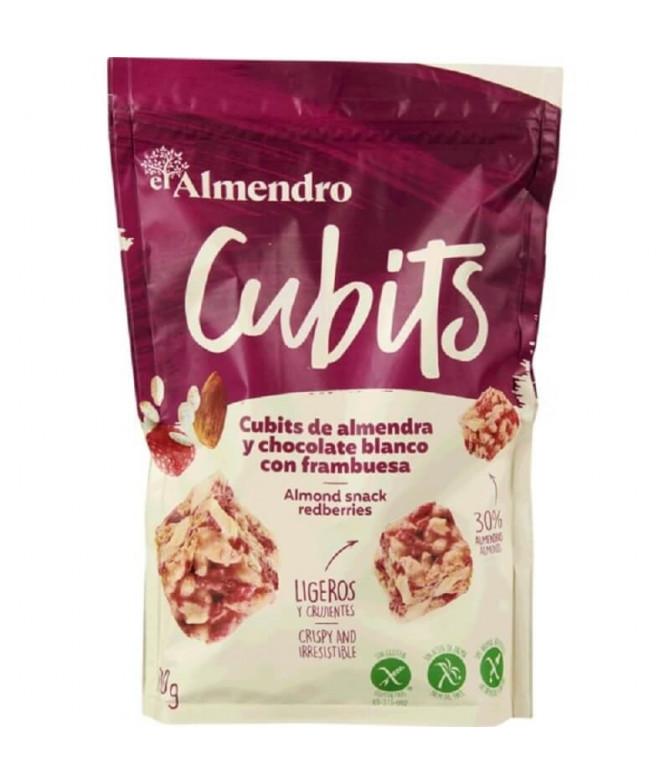 El Almendro Cubits Almedra Choco Blanco Frambuesa 100gr T