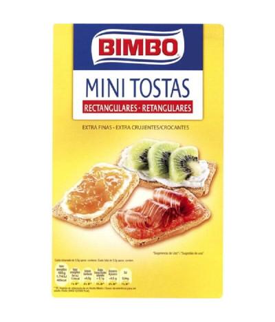 BIMBO Mini Biscotes Rectangulares 100gr T