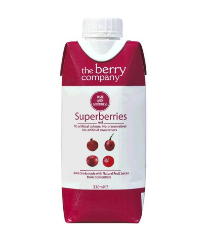The Berry Company Sumo Frutos Vermelhos 200ml