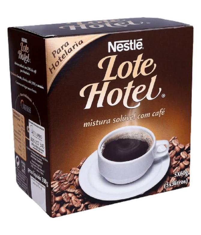 Nestlé Lote Hotel Mistura com Café 5x60gr