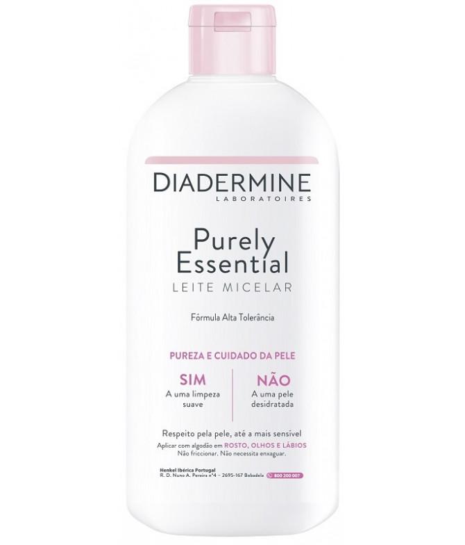 Diadermine Pure Essential Leite Micelar 400ml
