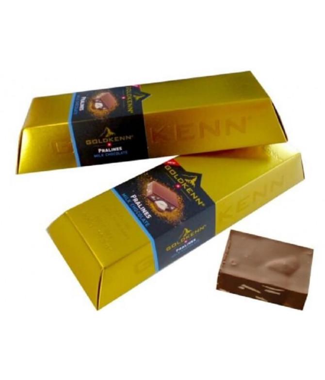 Goldkenn Lingote Oro Chocolate Leche Praliné 300gr T