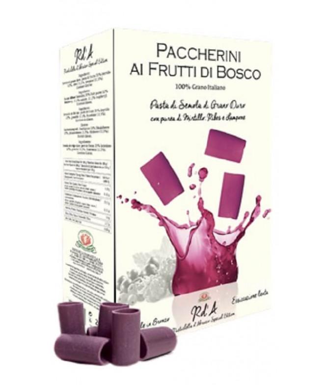 Rustichella D´Abruzzo Massa Paccherini Frutos Vermelhos 250gr