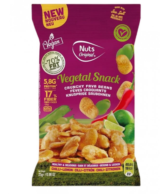 Nuts Original Haba Chili Limón 25gr T