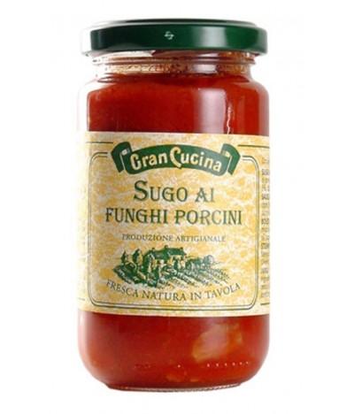 Molho de Tomate com Cogumelos Porcini 180gr