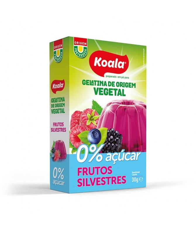 Koala Gelatina Vegetal Frutos Silvestres 0% 30gr T