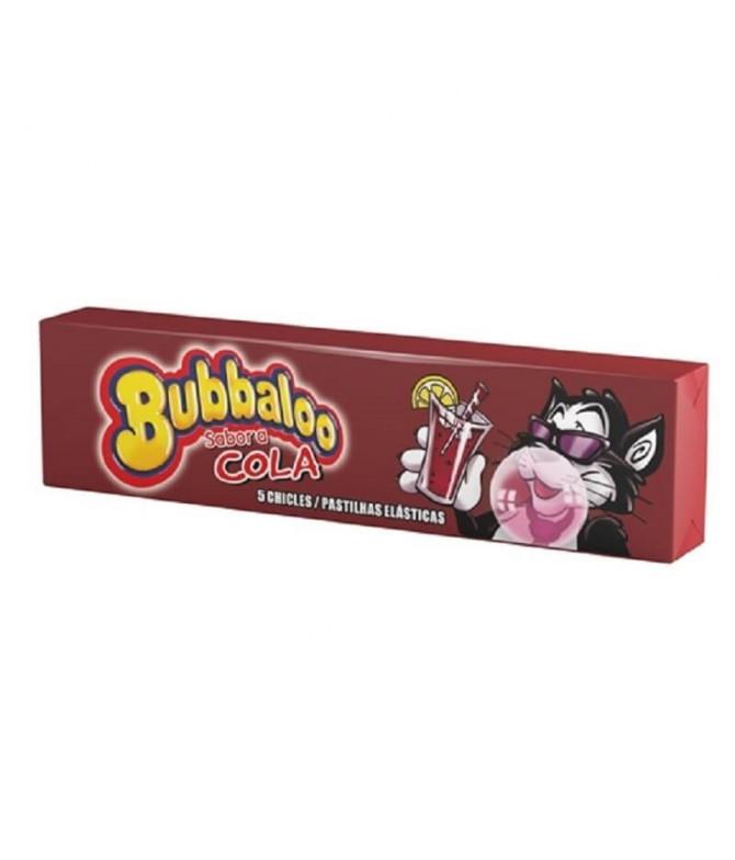 Bubbaloo Pastilha Cola 5un