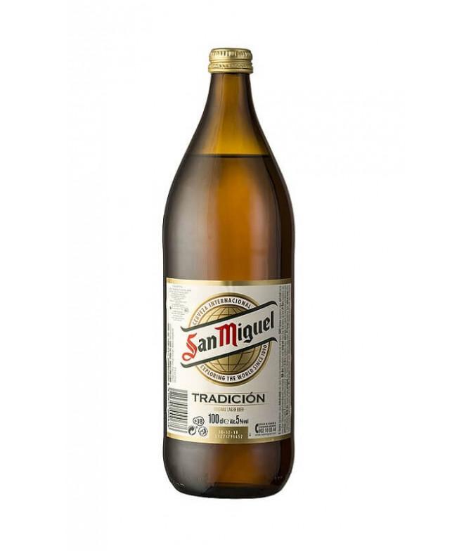 San Miguel Cerveza 1L T