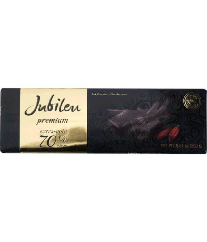 Jubileu Premium Chocolate Negro 70% 250gr T
