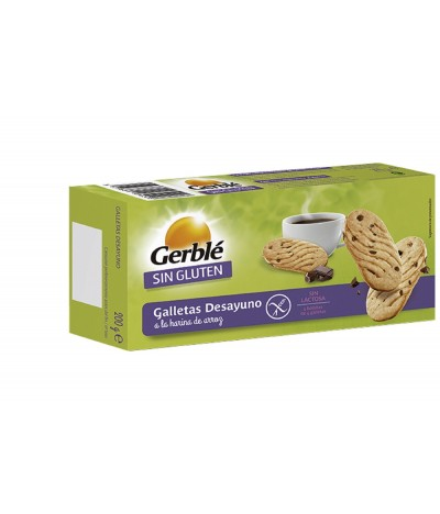 Galletas de Desayuo SIN GLUTEN Gerblé