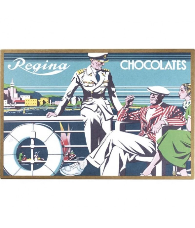 Regina Caja Turista Barco Chocolates 3x100gr T