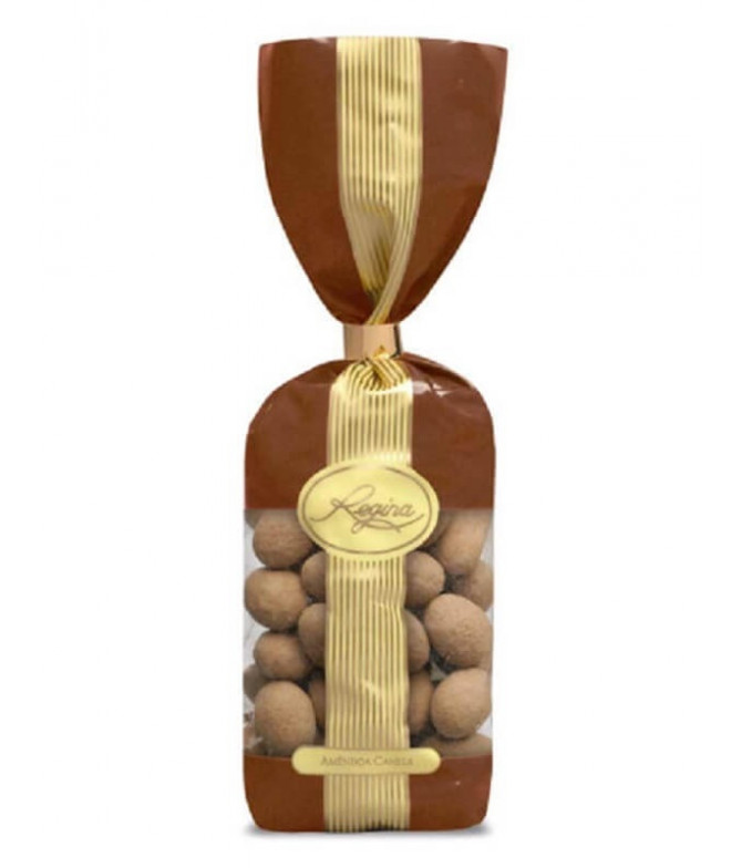 Regina Amêndoas Chocolate Leite Canela 180gr