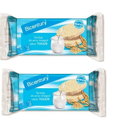 PACK 2 Tortitas de Arroz Integral com Sabor Iogurte