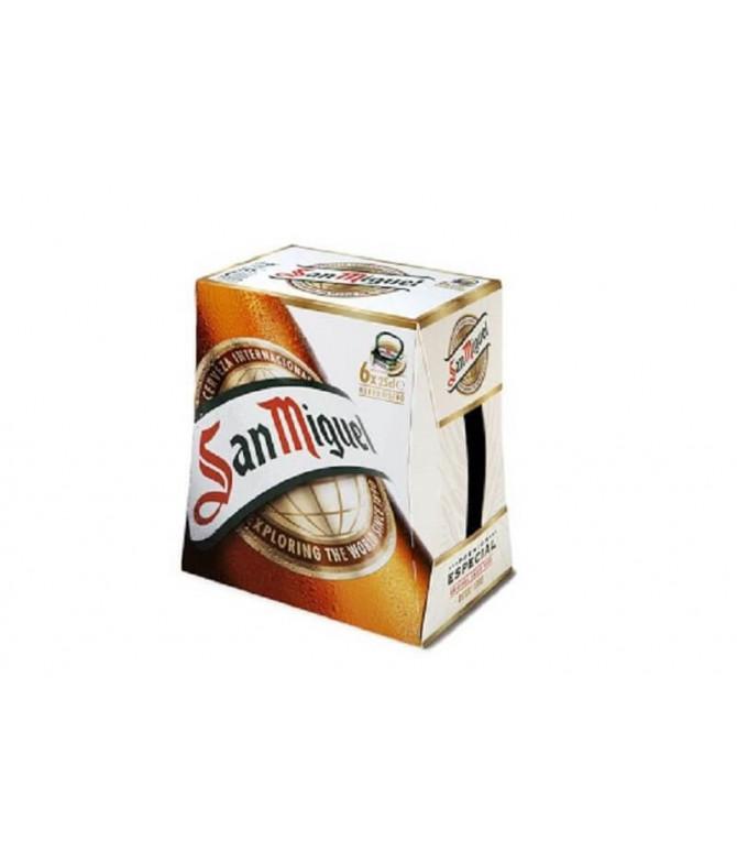 San Miguel Cerveza 6x25cl T