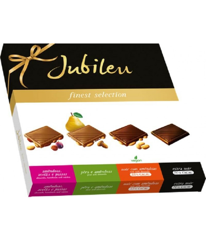 Jubileu Finest Selection Chocolate 4x100gr