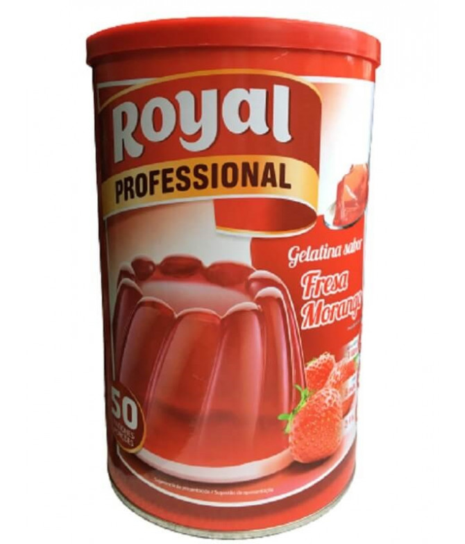 Royal Professional Gelatina Morango 850gr