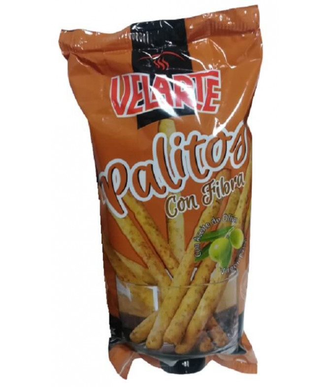 Velarte Palitos Pan Fibra & Aceite Oliva 50gr T