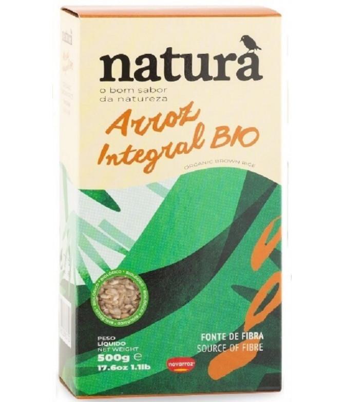 Natura Arroz Integral BIO 500gr T