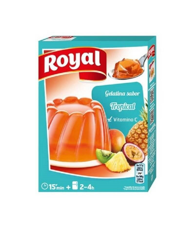 Royal Gelatina Tropical 2x85gr