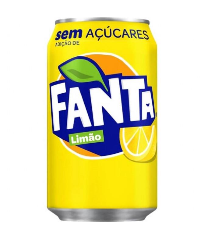Fanta Limón Sin Azúcar 33cl T