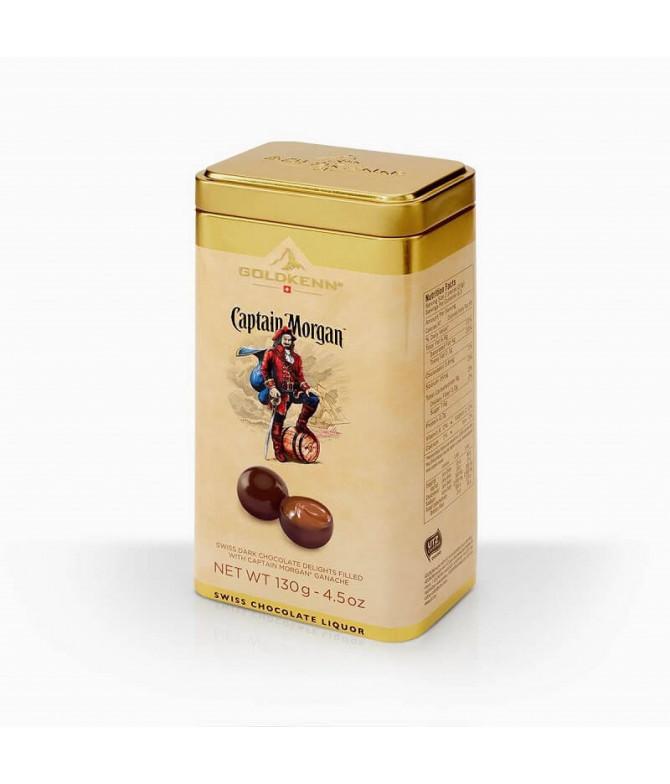 Goldkenn Captain Morgan Bombón Choco Leche Licor Lata 100gr T