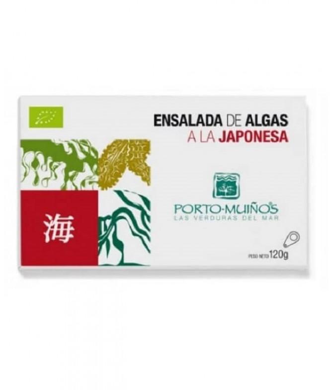 Porto Muiños Ensalada Algas Japonesa BIO 120gr T