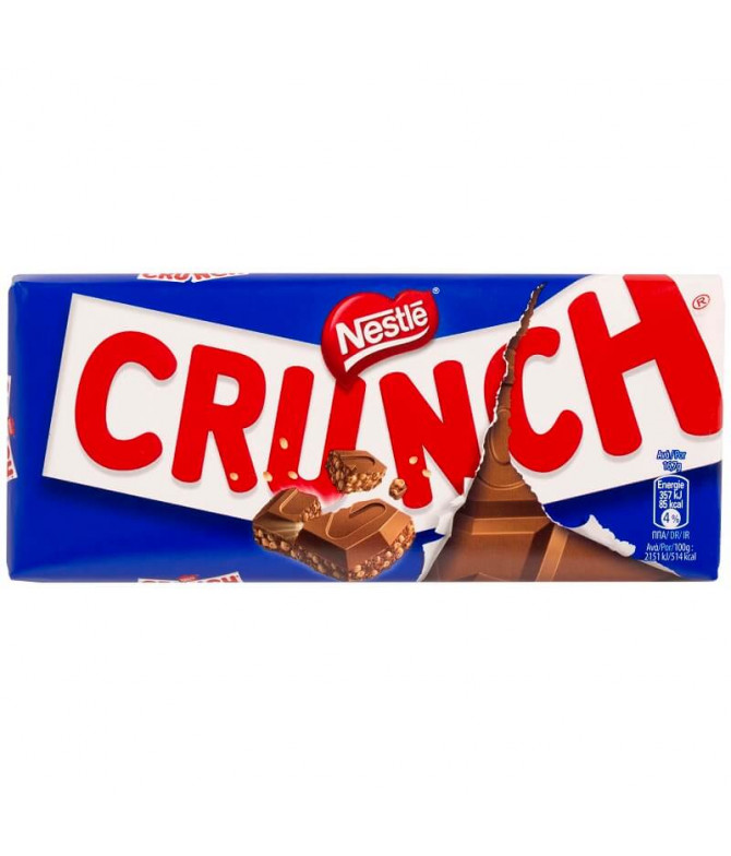 Crunch Chocolate Leche 100gr T