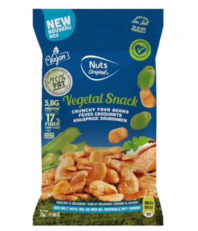 Nuts Original Haba Sal Marina Quinoa 25gr T