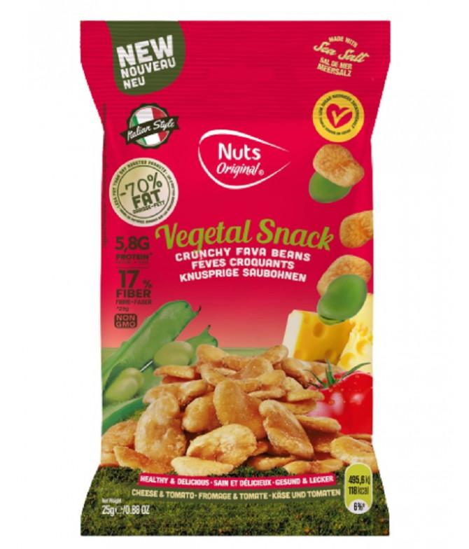 Nuts Original Haba Tomate Albahaca 25gr T