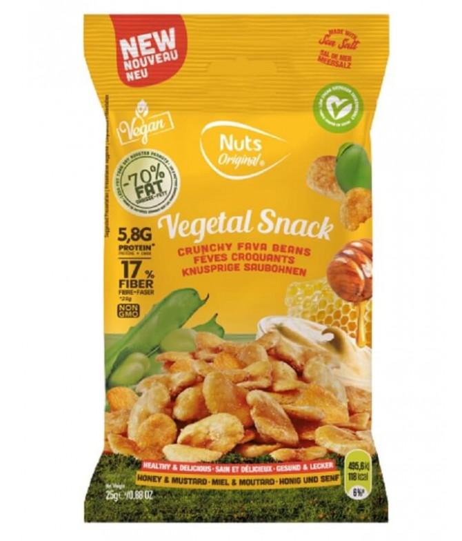 Nuts Original Haba Miel Mostaza 25gr T