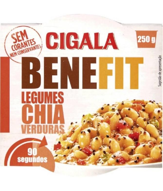 Cigala Benefit Legumes Chia Verduras 250gr