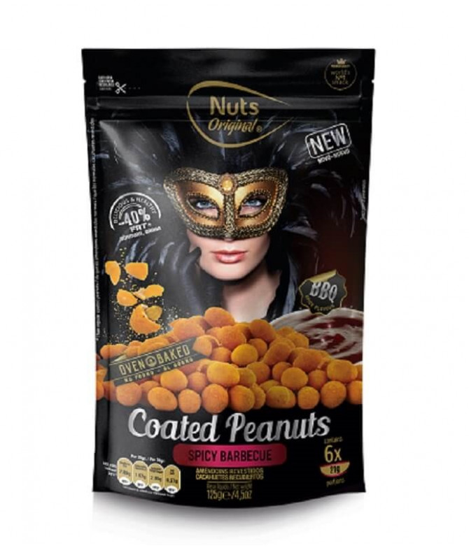 Nuts Original Cacahuetes Barbacoa 125gr T