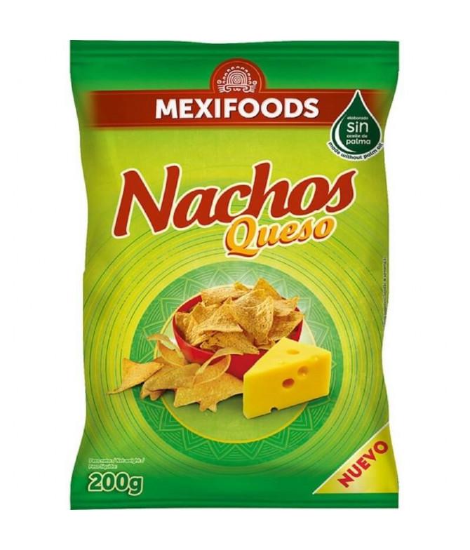 Mexifoods Nachos Queso 200gr T