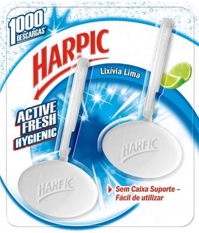 Harpic  Bloco Sanitário Hygienic Lixívia Lima