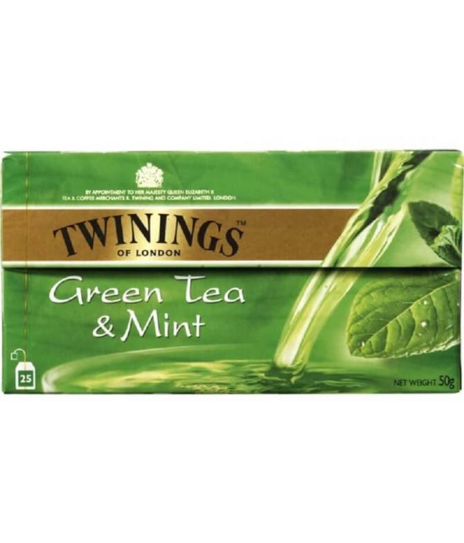 Twinings Chá Verde Menta 25un
