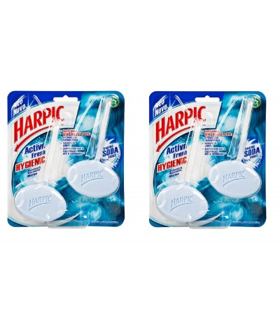 PACK 2 Harpic Bloco Sanitário Hygienic Marine