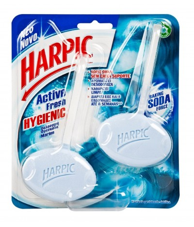 Harpic Bloco Sanitário Hygienic Marine