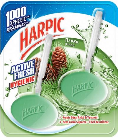 Harpic Bloco Sanitário Hygienic Pinho