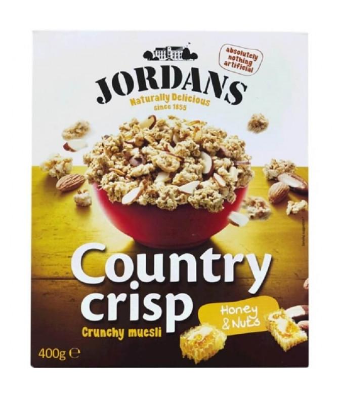 Jordans Country Crisp Muesli Mel Frutos Secos 400gr