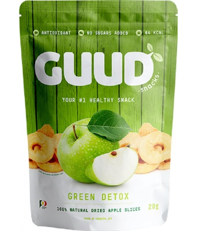 Guud Green Detox Manzana Deshidratada 20gr T