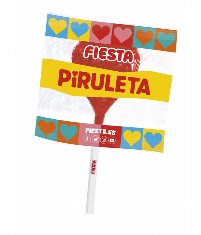 Fiesta Mega Piruleta Corazón 17x13gr T