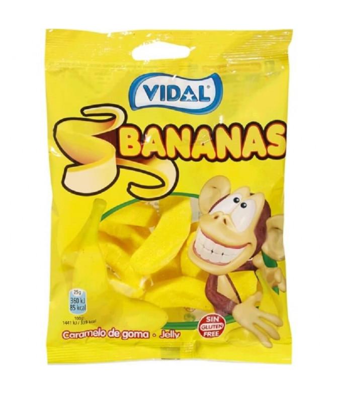 Vidal Gominola Plátanos 100gr T