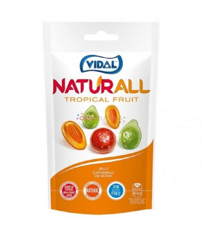 Vidal Naturall Gominola Tropical Fruit 180gr T
