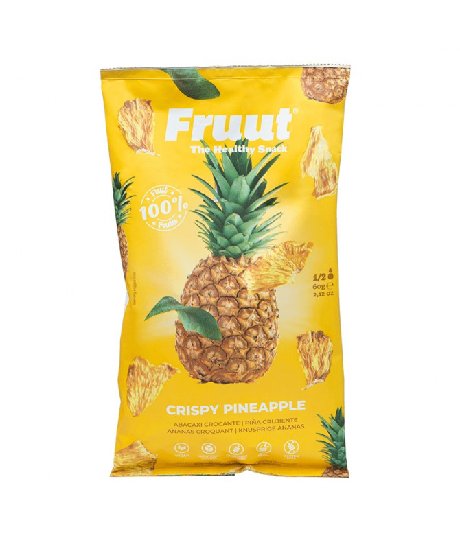 Fruut Snack Abacaxi 60gr