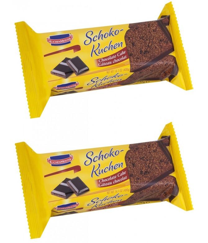 PACK 2 Bolo Clássico de Chocolate Kuchen Meister