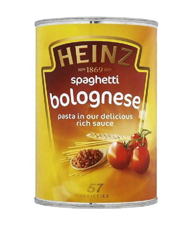 Heinz Spaghetti Boloñesa 400gr T