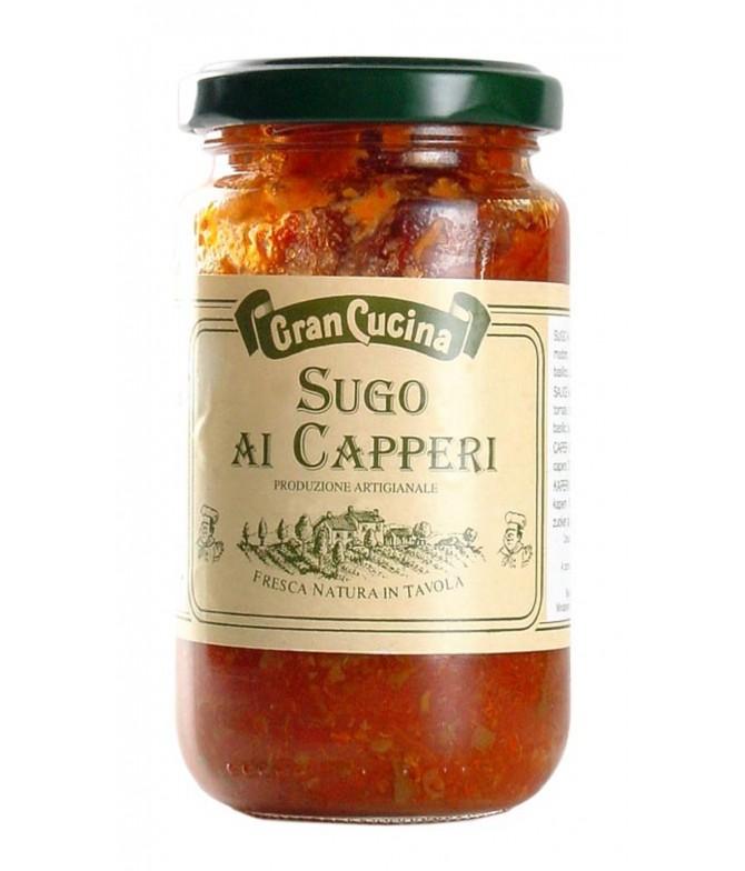 Molho de Tomate com Alcaparras 180gr